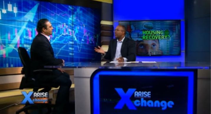 Arise TV Appearance Talking About The Housing Recovery