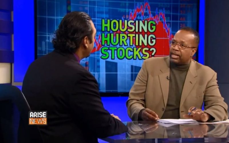 Pej Barlavi On AriseTV Discussing Housing Effect On Stock Market