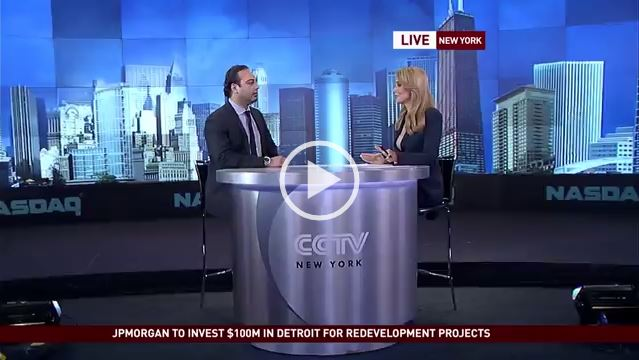 CCTV America Live News Program Appearance Millenials